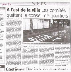 Midi Libre du 05 mars 2009