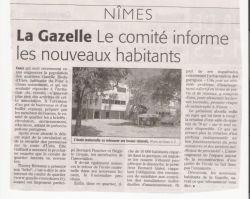 Midi Libre du 18 octobre 2008