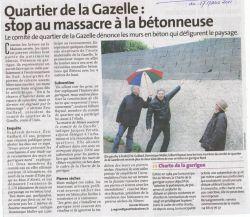 La Gazette de Nîmes du 17 Mars 2011