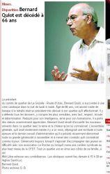 Midi Libre du 17 octobre 2010 : décés de Bernard Quiot