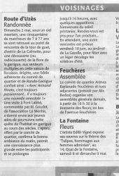 Midi Libre du 6 mai 2010 - Rando Garrigue 2010