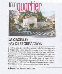 La gazette du 07 au 13 janvier 2010 - Mon quartier